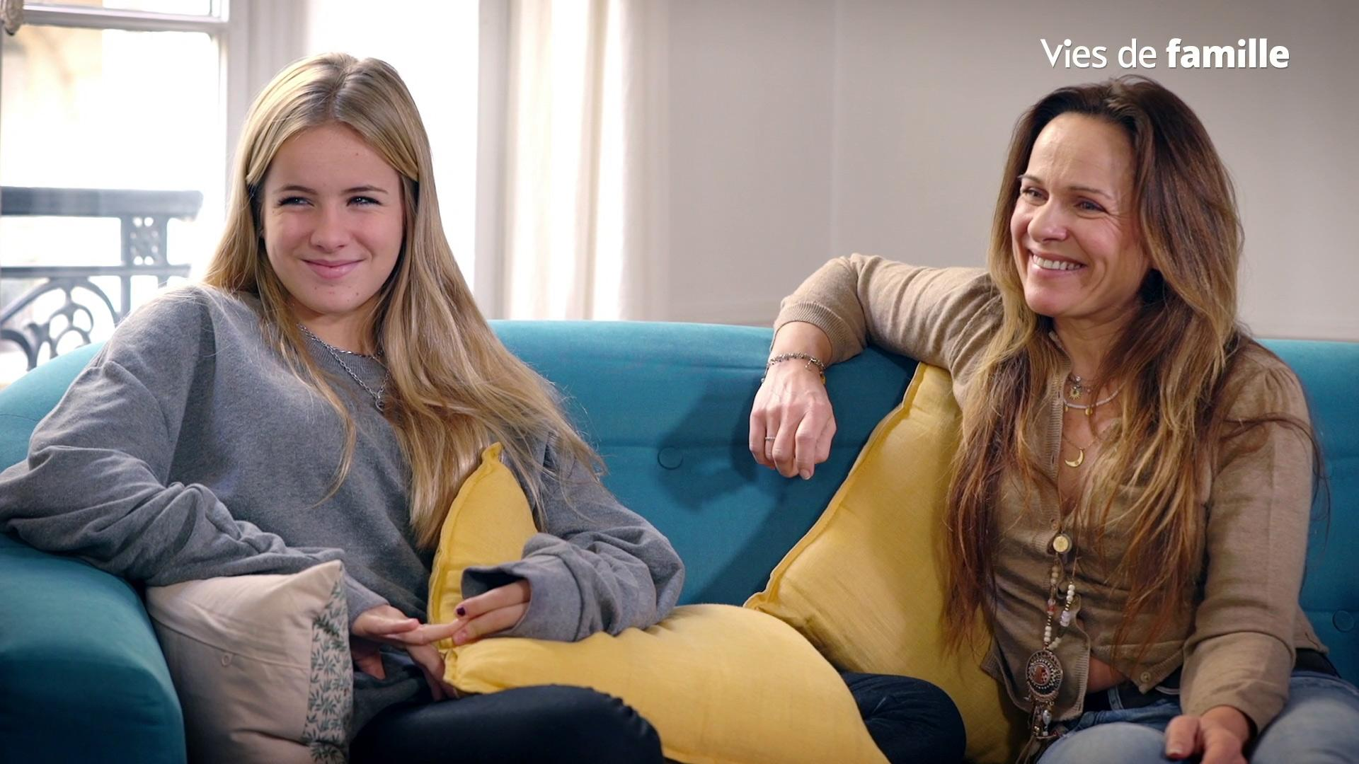 Témoignage de Virginie et sa fille Joséphine qui se confient sur l'adolescence