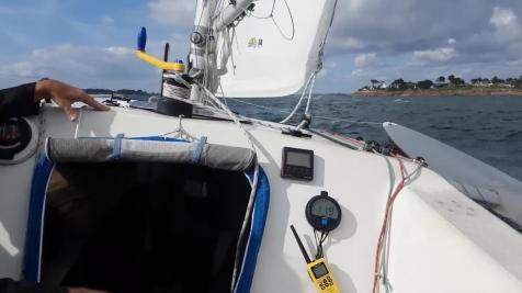 Entrée dans le Golfe du Morbihan